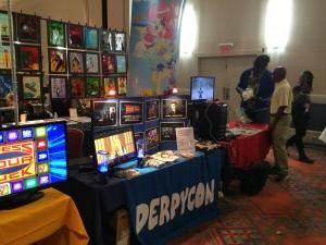 Newark Comic Con 2015 Table