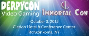 DerpyCon and Immortal Con Video Game Room