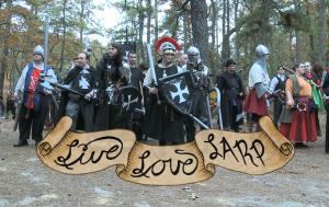 Live, Love, LARP Title