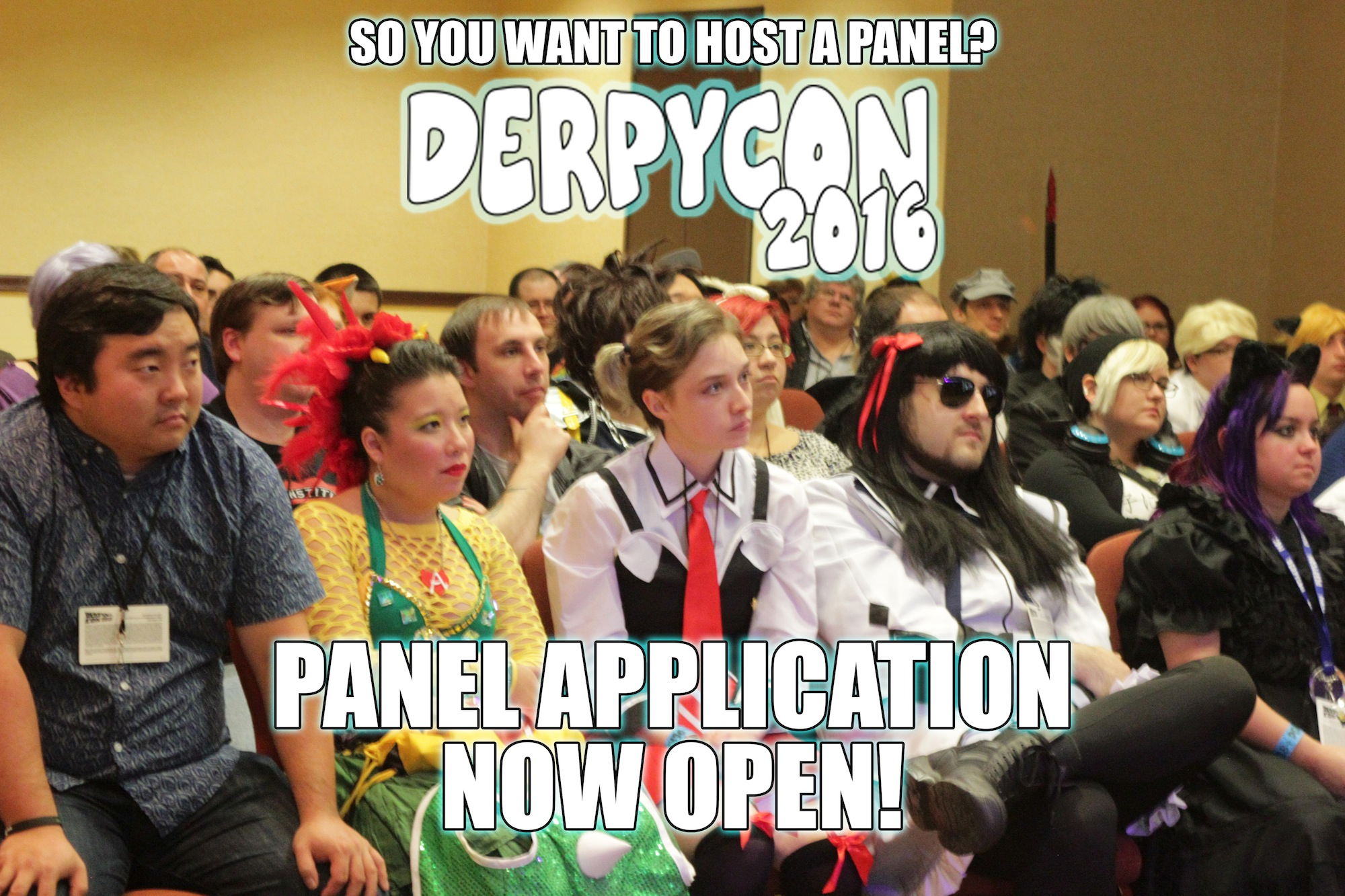DerpyCon Panel Submissions Closing Soon!