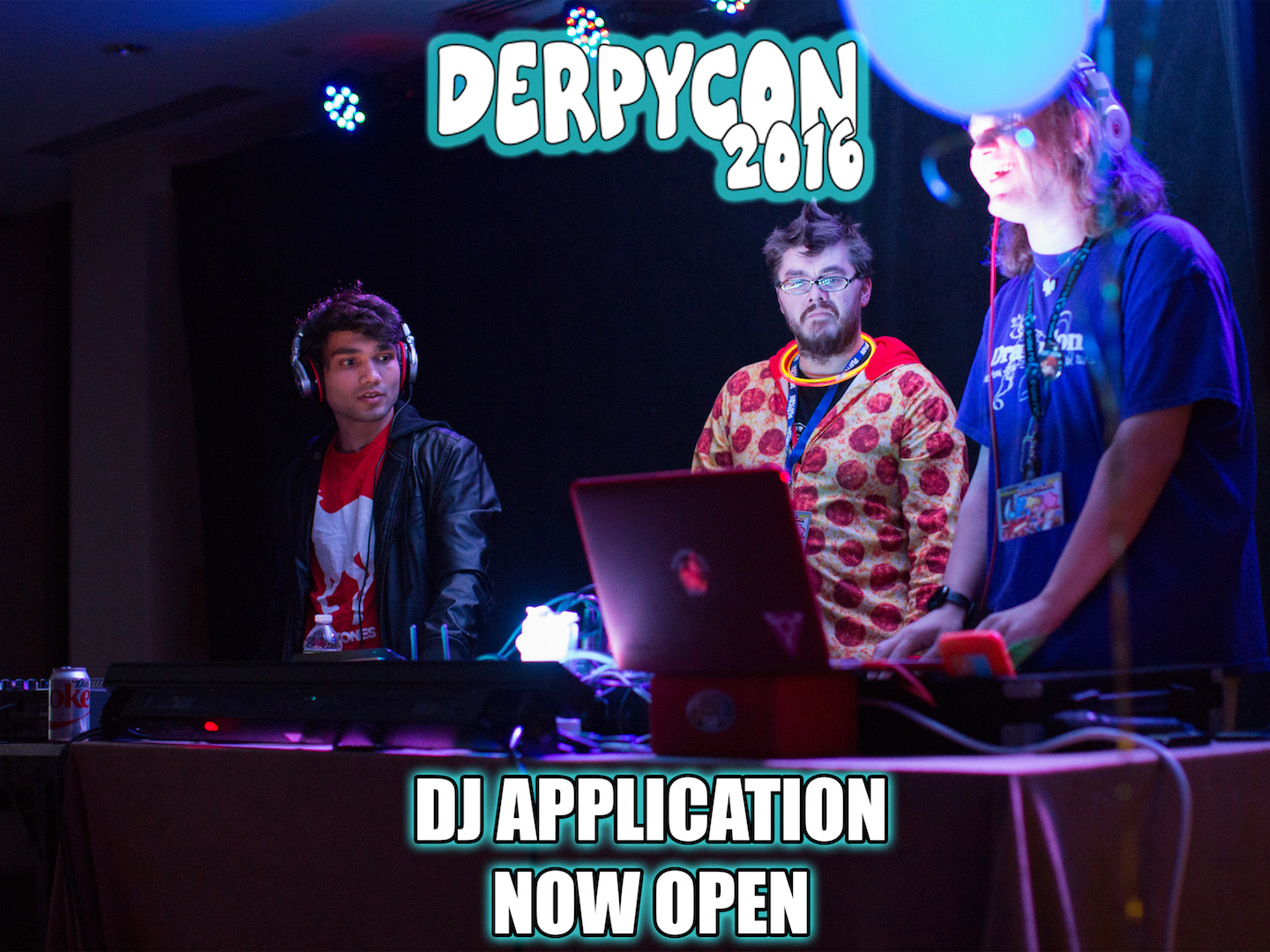 DerpyCon 2016 DJ Application Now Live