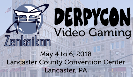 DerpyCon Video Gaming at Zenkaikon