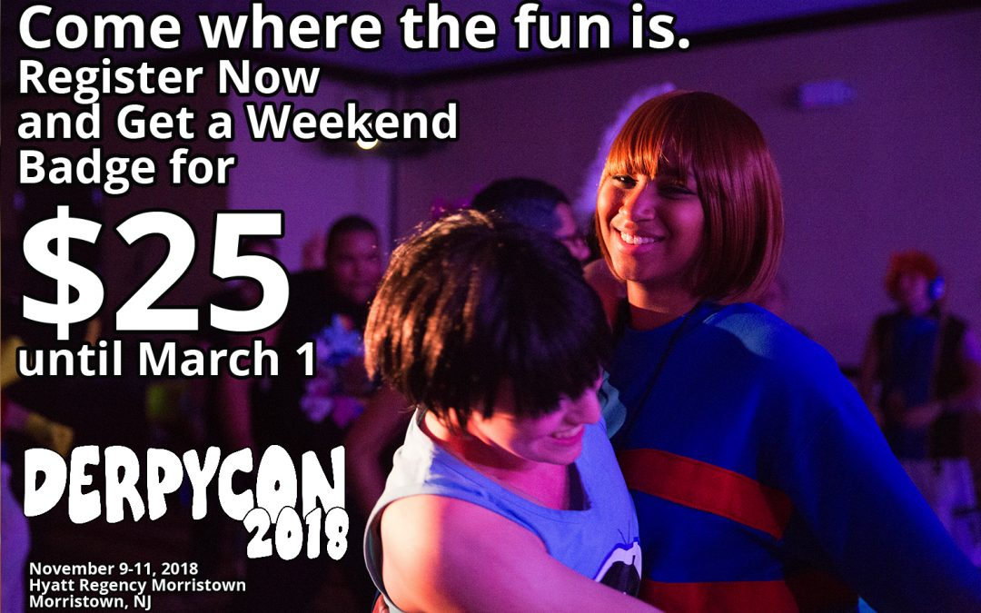 Come where the fun is! Register now for a discount rate!