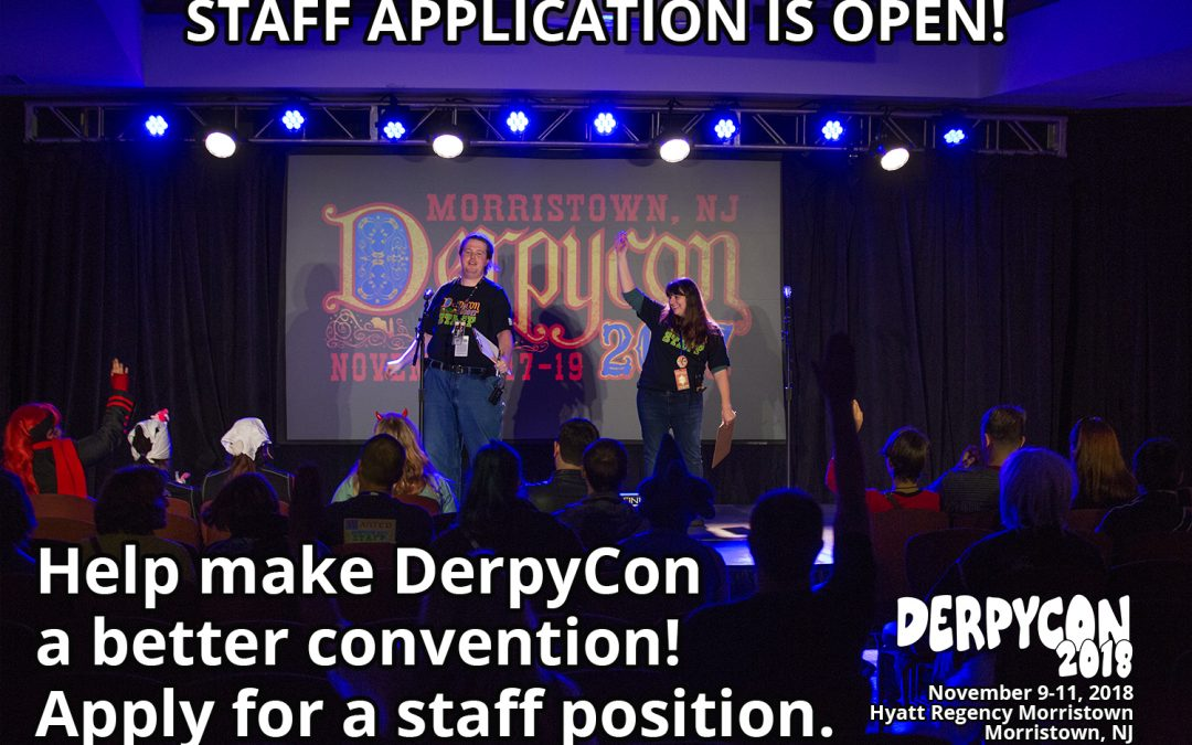 Staff Applications are open!