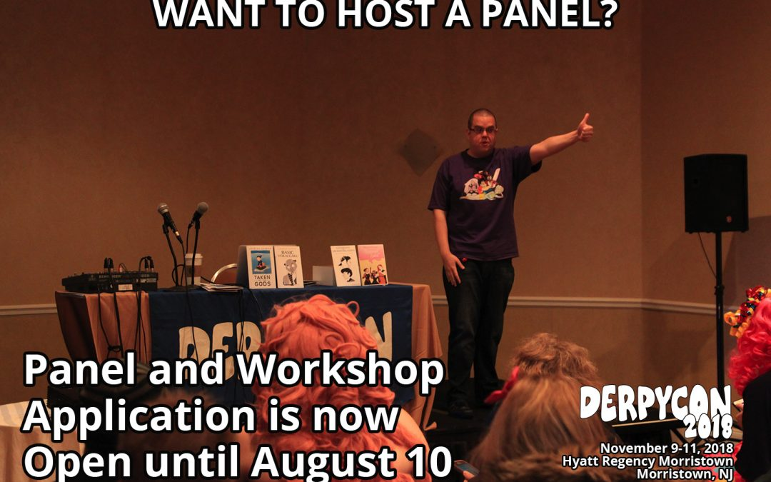 Panel and Workshop Applications are Open!