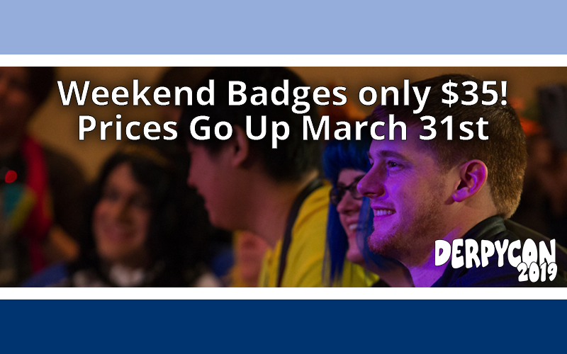 Badge Price Goes Up Tonight
