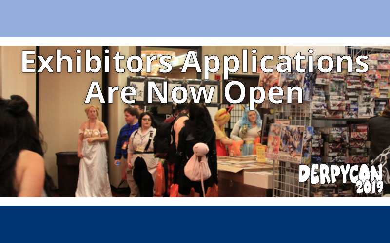 DerpyCon 2019 Exhibitor Applications Now Open!