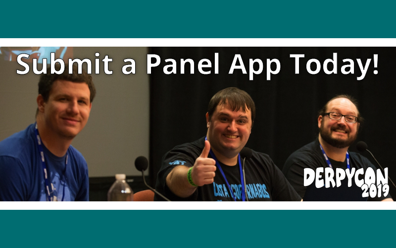We Want Your Panels! One Month To Go!