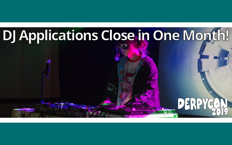 Turn Up the Music – DJ Applications Close in One Month!