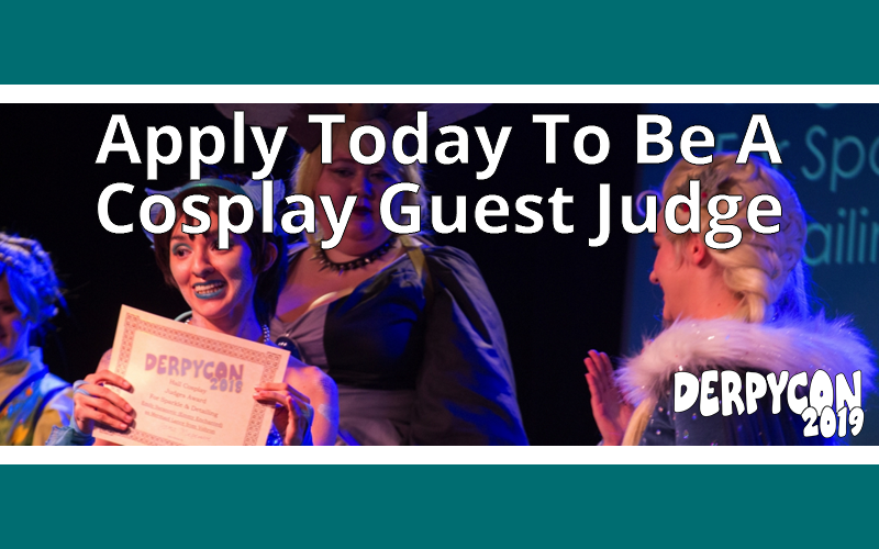Cosplay Guest Judge Applications Close June 30th!