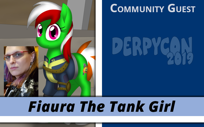 Fiaura The Tank Girl Returns for DerpyCon 2019!