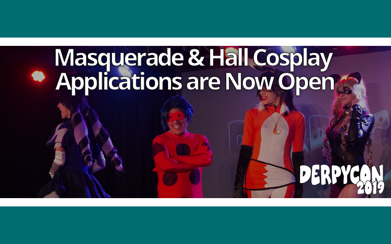 Masquerade & Hall Cosplay Forms Now Open