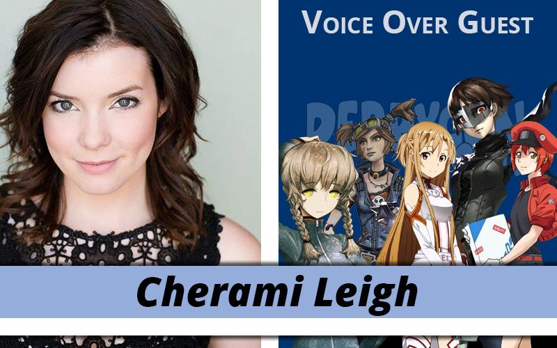 Cherami Leigh Battles to the Scene!