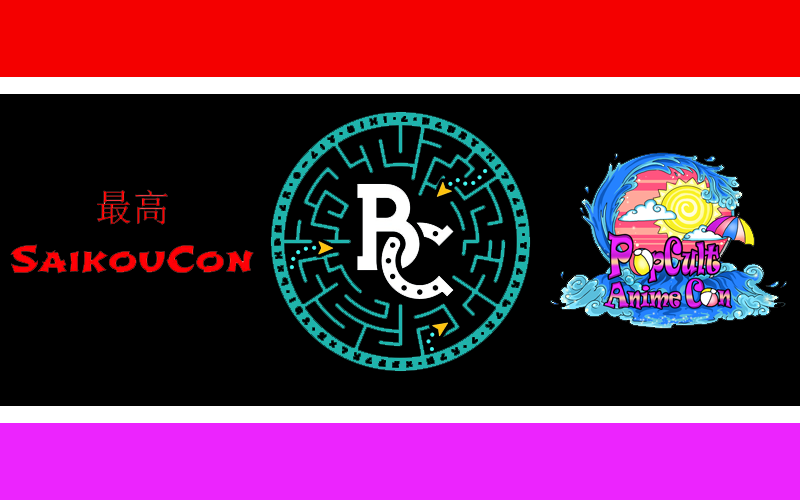 On The Road: SaikouCon, BronyCon, & PopCult Anime Con