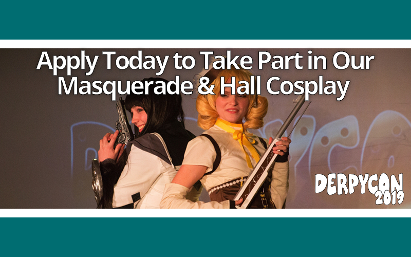 Gear Up for the Masquerade & Hall Cosplay Contest