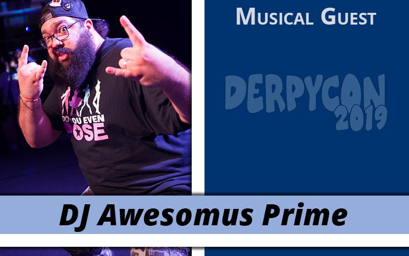 Headbanging with DJ Awesomus Prime