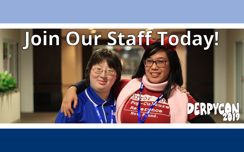 Join Our Staff!