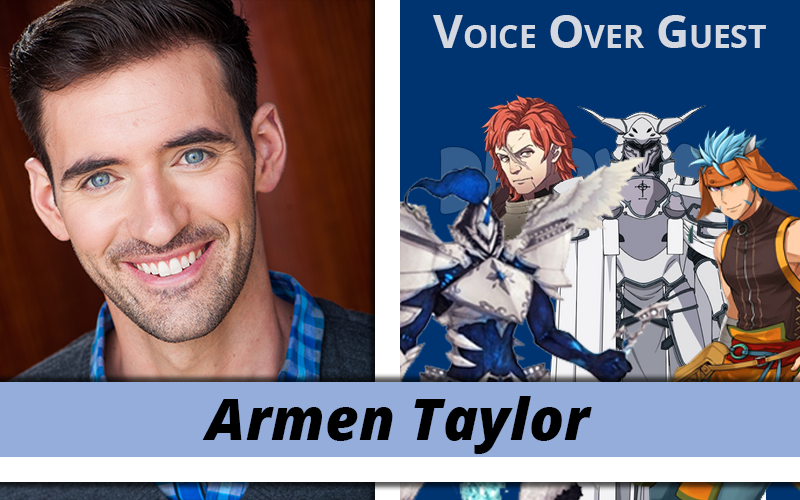 Armen Taylor Joins the Party!
