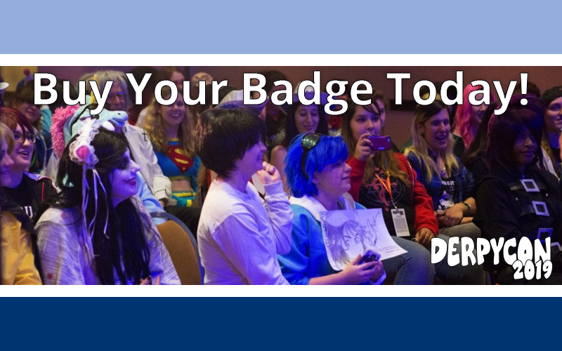 Don't Miss Out – Buy Your Badge Today!