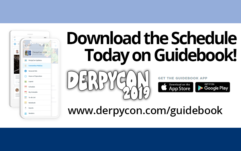 DerpyCon 2019 Schedule Now Available!