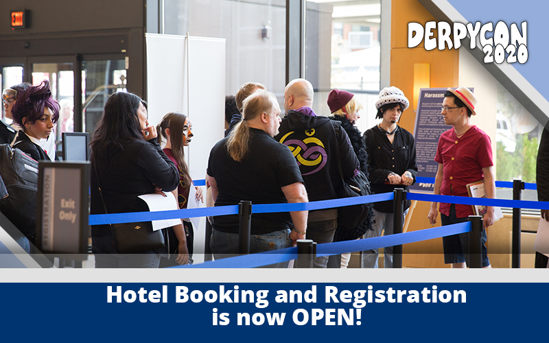 Registration and Hotel Booking Now Open