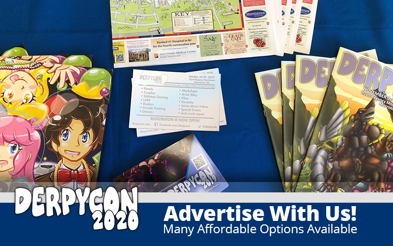 Advertise With DerpyCon!