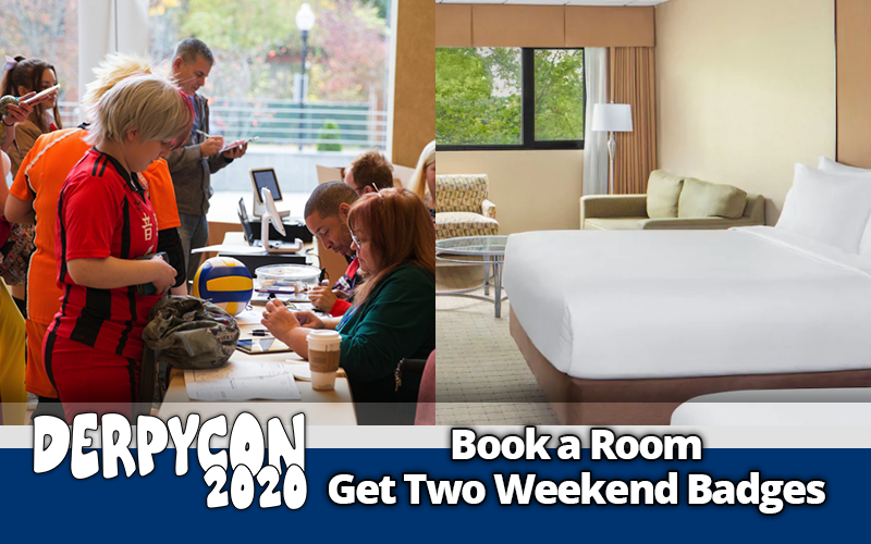 Book A Room & Get Two Free Weekend Badges Promotion Ends Next Week!