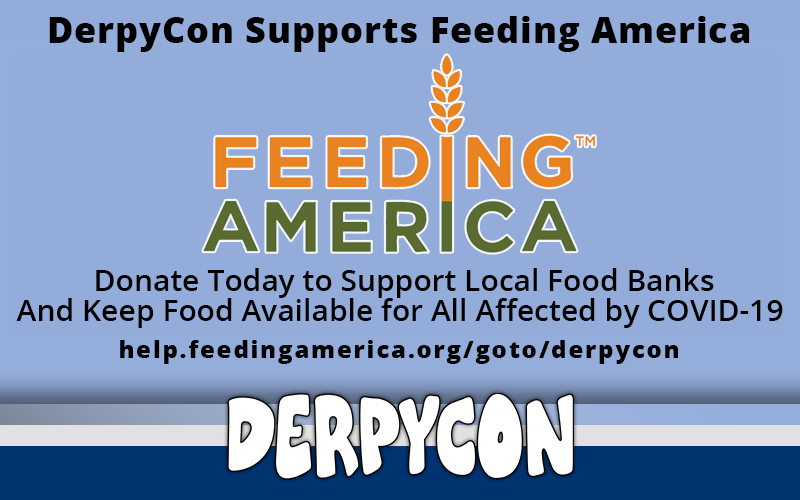 DerpyCon Supports Feeding America