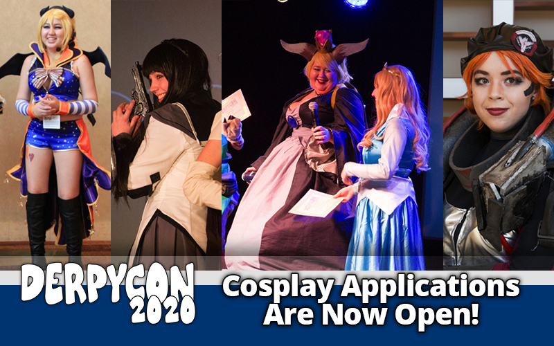 Cosplay Applications are Now Open!