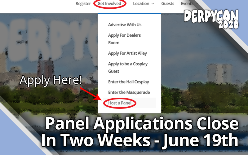 Two Weeks Left for Panel Applications