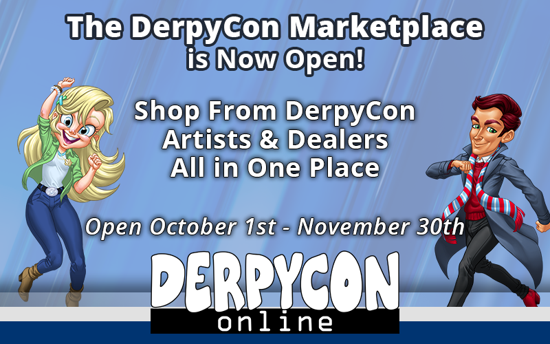 Shop at the DerpyCon Marketplace!