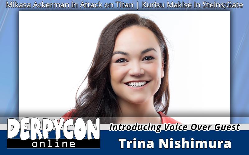 Trina Nishimura Heads to DerpyCon Online!