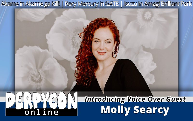 Voice Actress Molly Searcy Joins the Party!