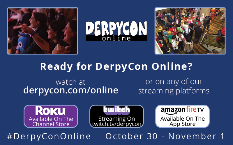 DerpyCon Online is This Week!