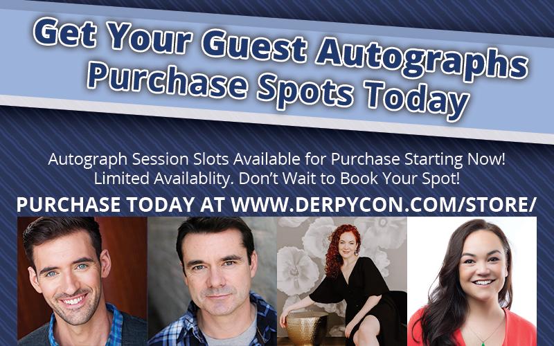 Get Your Autographs!