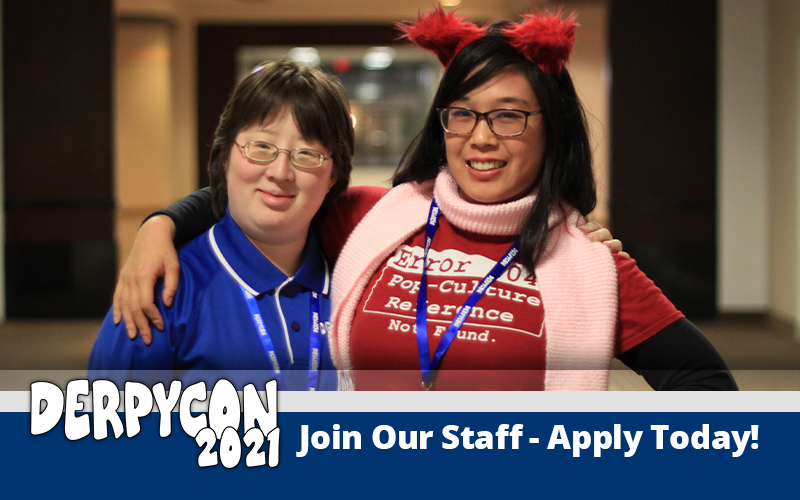 DerpyCon Staff Applications Now Open