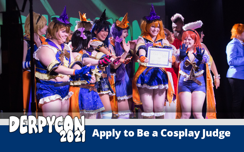 Cosplay Judge Application Now Open