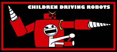 Children Driving Robots