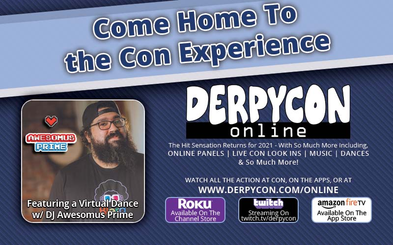 DerpyCon Online Returns for 2021!