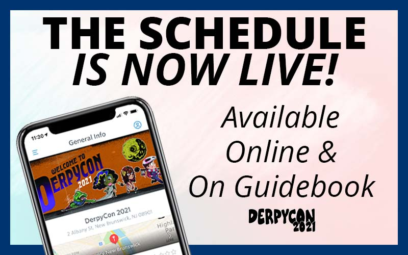 The Schedule Is Here!